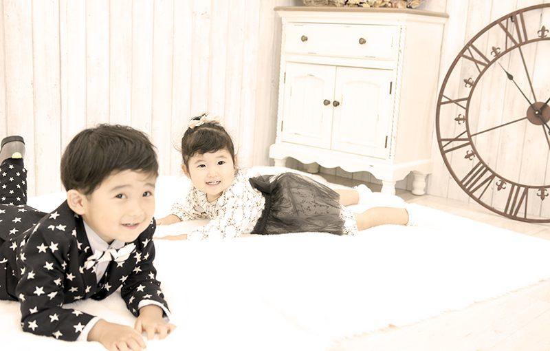 【スタジオParfait】3歳男の子☆記念撮影