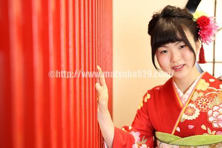 成人式前撮り振袖Natsumi2