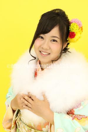 成人式前撮り振袖Saya1