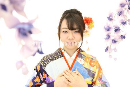 成人式前撮り振袖Maho2