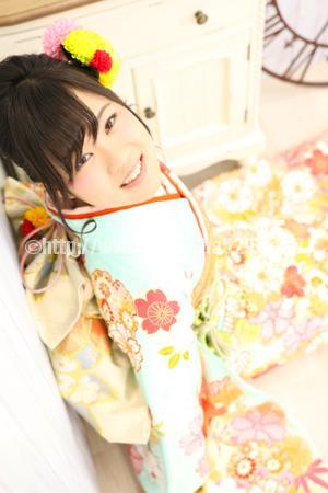 成人式前撮り振袖Saya2