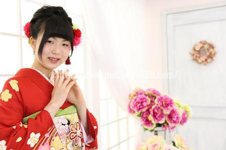 成人式前撮り振袖Natsumi1