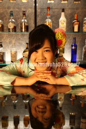 成人式前撮り振袖Saya3