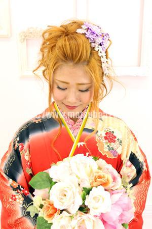 振袖成人式前撮り柚香2
