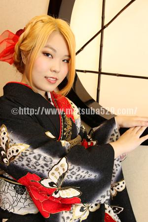 成人式前撮り振袖Minami4