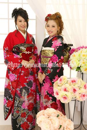 成人式前撮りSayaka&Mizuki